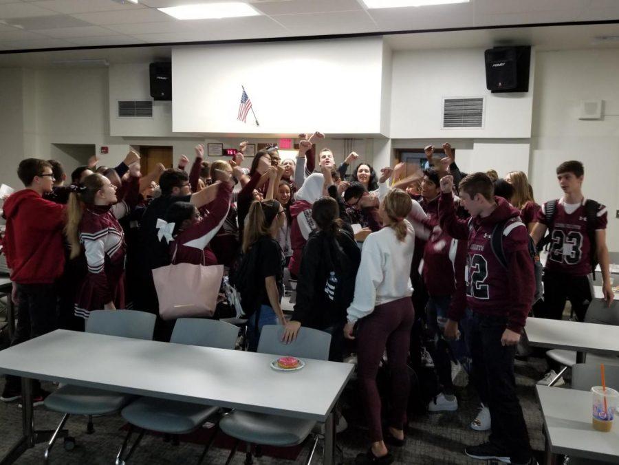 The Maroon Crew Begins a New Era of School Spirit