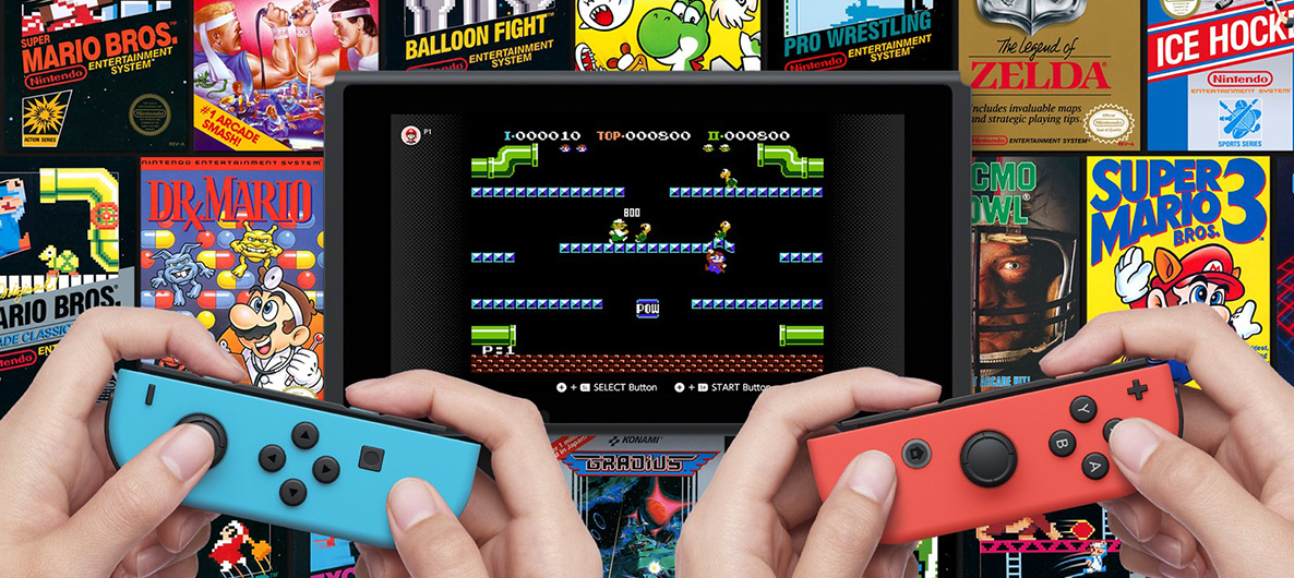 With a Nintendo Online subscription, players will have access to Nintendo Classics like the original Super Mario Bros.