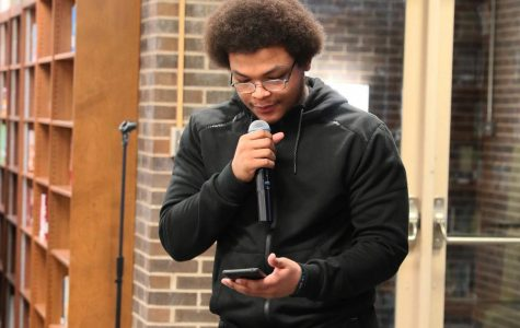 Argo Learning Resource Center hosts poetry event in honor of Black History Month