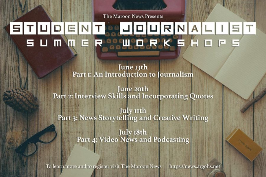 The+Maroon+News+to+host+summer+workshops+for+student+journalists